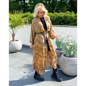 Lana golden kimono