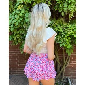 Jilly flower skirt purple