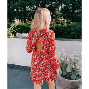Manouk dress red