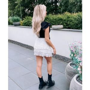 Joosje plissé skirt white