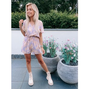 Vivian jumpsuit lila