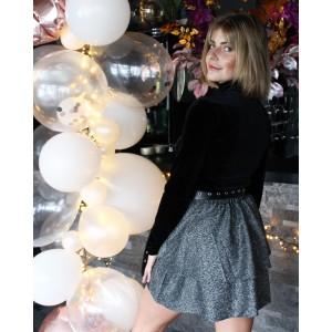 Elena skirt silver