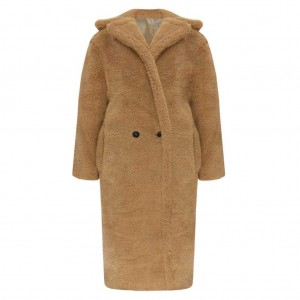 Maya oversized teddy coat